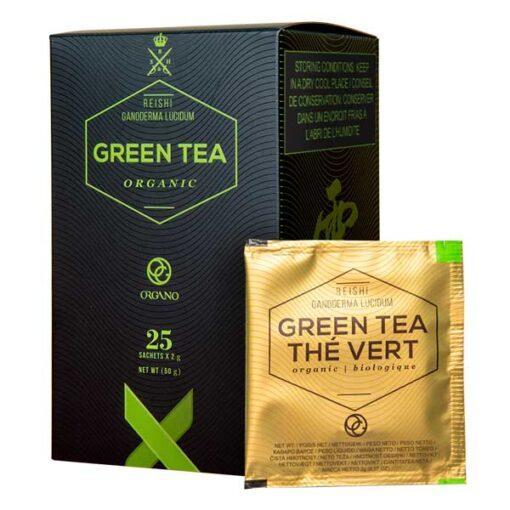 Reishi Coffee Organo™ Organic Green Tea